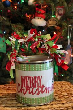 Paint can gift