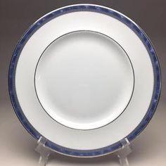 Threshold Porcelain Dinner Plate at Target - Silver Snowflake ...