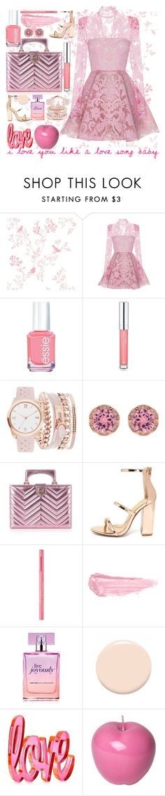 """Untitled #113"" by lovelyemilyk ❤ liked on Polyvore featuring Alex Perry, Essie, Forever 21, A.X.N.Y., Betsey Johnson, Gucci, Liliana, Too Faced Cosmetics, By Terry and philosophy"