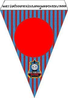 Thomas - Kit Completo com molduras para convites, rótulos para guloseimas, lembrancinhas e imagens!