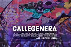 #CALLEGENERA2016 Empieza la cuenta regresiva! #Octubre2016 #EstoEsCONARTE