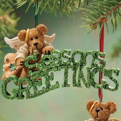 Boyds Bear ornaments