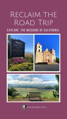 If you travel California, make sure to include a California Mission. There are 21 missions of California located through the state. Each destination is unique, definitely a photo shoot option worth exploring, and on top of that, educational.