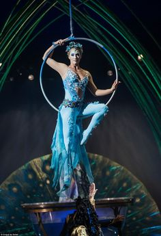 Amaluna, which has never before been seen in the UK, tells the story of a mysterious islan...