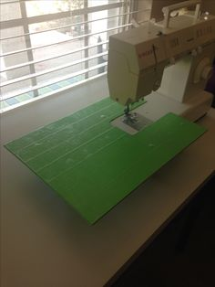 A Sewing Machine Extension Table Made Out Of A Paper Box, This Is Such A  Great IDEA! A Beautiful Day   O Zi Frumoasa: Necessity Is The Mother Of Inu2026