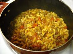 Mommy's Kitchen - Old Fashioned & Southern Style Cooking: Bobby's Favorite Goulash {Now Our Favorite}