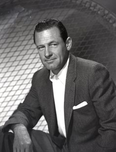 William Holden (* 17. April 1918 in O'Fallon, Illinois; † 12. November 1981 in Santa Monica, Kalifornien)