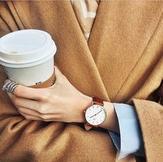 time for camel coats and warm drinks