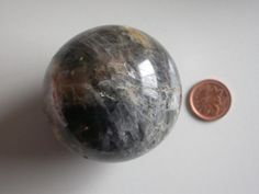 Black Moonstone Sphere
