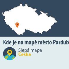 Slepá mapa České republiky - učební pomůcka pro výuku geografie a pro volný čas. Otestujte se ze zeměpisných znalostí - určitě polohu českých míst na mapě. Montessori, Homeschooling, Poem, Geography, Homeschool
