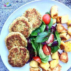 Kuřecí karbanátky s brokolicí jako rychlý a zdravý fitness oběd / večeři pro štíhlou línii. Kuřecí karbanátky s brokolicí si hned zamilujete, jsou dokonalé!