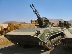 BMP-1 with ZU-23-2 Self-Propelled Anti-Aircraft Gun (Afghanistan)