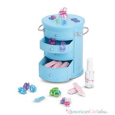 American Girl Salon Styling Caddy
