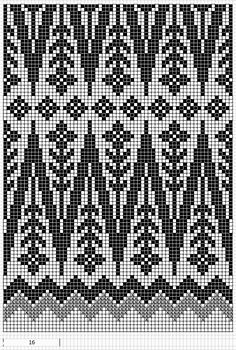 Mustrilaegas: AA Kirjatud kudumid / Patterned knits for 32 st repeat Fair Isle Knitting Patterns, Knitting Charts, Weaving Patterns, Knitting Stitches, Knitting Designs, Loom Knitting, Knitting Tutorials, Knitting Machine, Bead Patterns