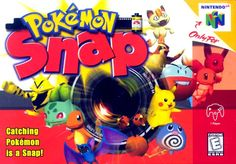 Pokemon Snap....how this entertained me I'll never really know