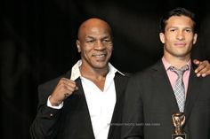 Mike Tyson at the Nevada Boxing Hall of Fame 2015 Gala