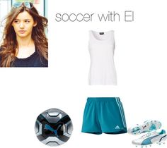 """soccer with Eleanor"" by alycia-loves-food ❤ liked on Polyvore"