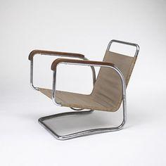 Jindrich Halabala, Lounge Chair, 1930.