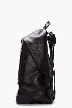 3.1 PHILLIP LIM Black Leather 31 Hour Backpack
