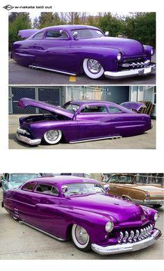 Ideas custom cars paint jobs hot rods for 2019 Custom Car Paint Jobs, Custom Cars, Cool Car Paint Jobs, Mercury Cars, Auto Retro, Truck Paint, Old Classic Cars, Car Colors, Audi Cars