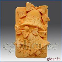 2D Silicone Soap Mold Jingle Bells | eBay