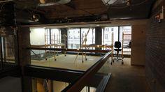 Renovations to College Park Plaza's mezzanine.
