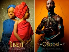 Celebrating our Ancestral Orishas; those spirits who continue to watch over us..