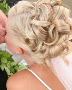 wedding+hair+updos+with+veil | Bridal hair updos with veils pictures 3