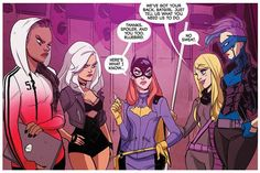 BATGIRL is the end of an era for the title, as it's the last issue from the full Stewart, Fletcher, Tarr creative team. Black Canary Costume, Black Canary Comic, Babs Tarr, Batgirl And Robin, Novel Movies, Stephanie Brown, Barbara Gordon, Gotham Girls, Batman Family