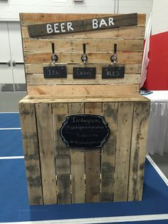 We have a new stand! If you are interested in renting our new Beer Bar for your upcoming wedding or private event, please contact us!