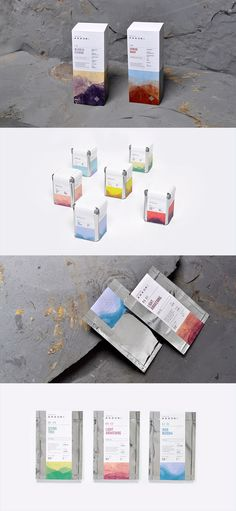 Tea Branding and Packaging: 46 Innovative and Delightful Designs Tea Packaging, Brand Packaging, Label Design, Package Design, Graphic Design, Zen Tea, Tea Brands, Tea Box, Wine And Beer