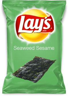 Seaweed Sesame Seed flavored Lay's Chips anyone?