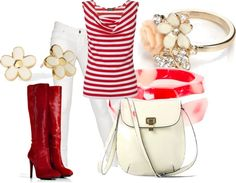 """""""REd line"""" by coromitas on Polyvore"""