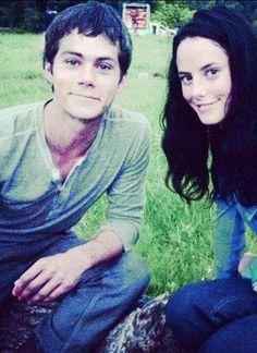 Thomas and Teresa | The Maze Runner