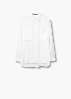 Pockets flowy shirt | MANGO