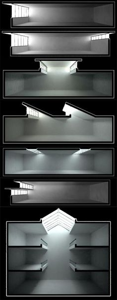 Natural Lighting Architecture 39 New Ideas Architecture Drawings, Light Architecture, Architecture Details, Interior Architecture, Sections Architecture, Natural Architecture, Study Architecture, Architecture Diagrams, Sustainable Architecture