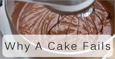 Why A Cake Fails ~ Cake has a hump = oven overly hot when baking started.  And many more helpful tips.