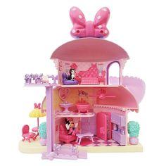 Minnie Mouse House, Minnie Mouse Doll, Minnie Mouse Stuff, Baby Girl Toys, Toys For Girls, Original Barbie Doll, Smoothie Shop, Disney Store, All Disney Princesses