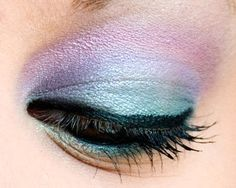 pastels on your eye