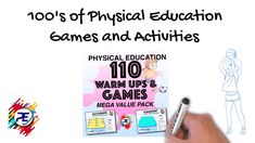 Lesson Plans and Games activities. No planning Needed. Get the latest fun interactive games for your classes Physical Education Lesson Plans, Elementary Physical Education, Warm Up Games, Fun Games For Kids, Pe Ideas, Pe Games, Help Teaching, Teacher Pay Teachers, Physics