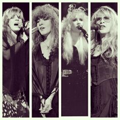 The timeless face of a rock and roll woman