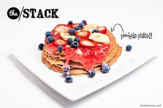 Protein pancakes - Great website with yummy high protein recipes