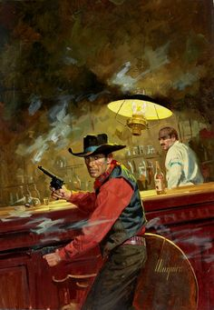 'Shootout at the Bar' by Robert Maguire