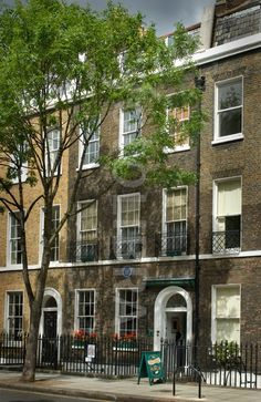 Dickens House - London, England. It took me FOREVER to find this place. Just a normal house on a normal street. Some of the greatest books in English literature with written here. I visited on a day in 1998, when I was teaching in London.