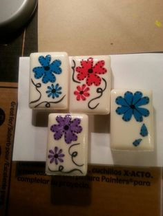 Painted soaps