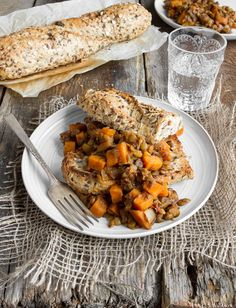 maple baked lentils 9957 thumb   Maple Baked Lentils with Sweet Potato – Healthy Comfort Food