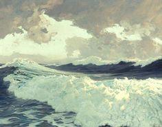"Frederick Judd Waugh ""The Ocean"""