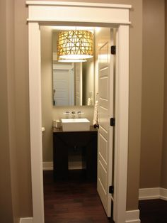 Rockport Gray Paint BM Love The Light Over Sink