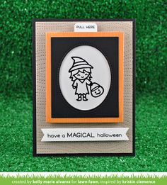 the Lawn Fawn blog: Lawn Fawn Intro: Costume Party, Village Border + Trick or Treat Border