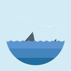 Shark by Gaia Garufi